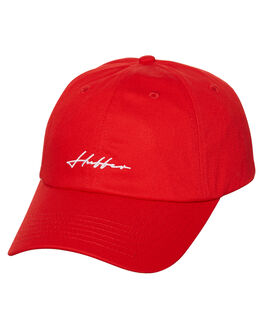 RED MENS ACCESSORIES HUFFER HEADWEAR - MA81S005RED