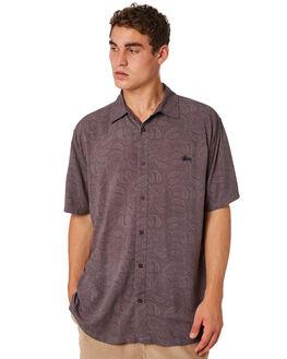 GREY MENS CLOTHING STUSSY SHIRTS - ST083409GRY