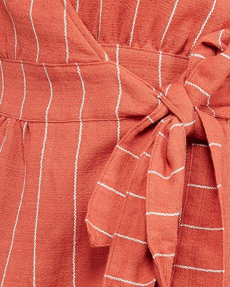 RED RUST WOMENS CLOTHING ELEMENT DRESSES - EL-205864-RDT