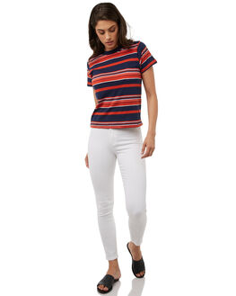 WHITE WOMENS CLOTHING A.BRAND JEANS - 70789001