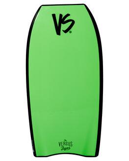 BLACK FLURO GREEN BOARDSPORTS SURF VS BODYBOARDS BOARDS - V19FLOW42BLBLKFG