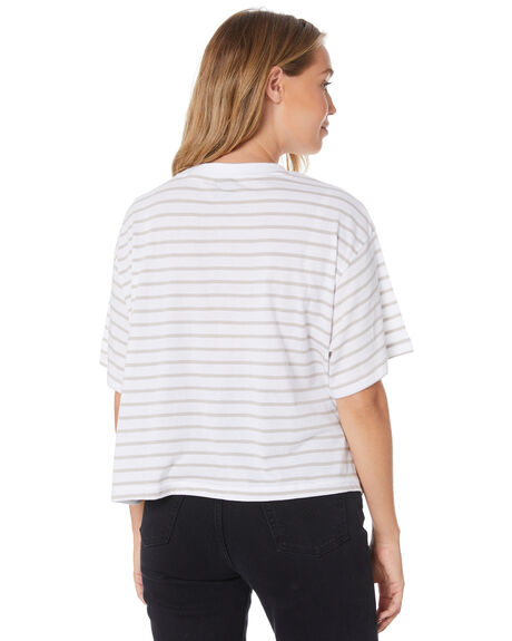 STRIPED WOMENS CLOTHING STUSSY TEES - ST105003STP