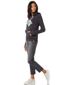OIL GREY WOMENS CLOTHING HURLEY JUMPERS - AGFLK19013