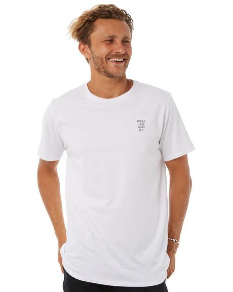 WHITE MENS CLOTHING DEPACTUS TEES - D5183001WHITE