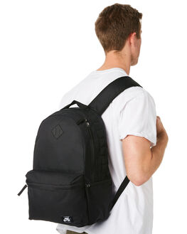 BLACK WHITE MENS ACCESSORIES NIKE BAGS + BACKPACKS - BA5727-010