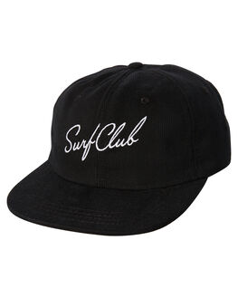 BLACK MENS ACCESSORIES OAKLAND SURF CLUB HEADWEAR - SP18-H1-BBLK