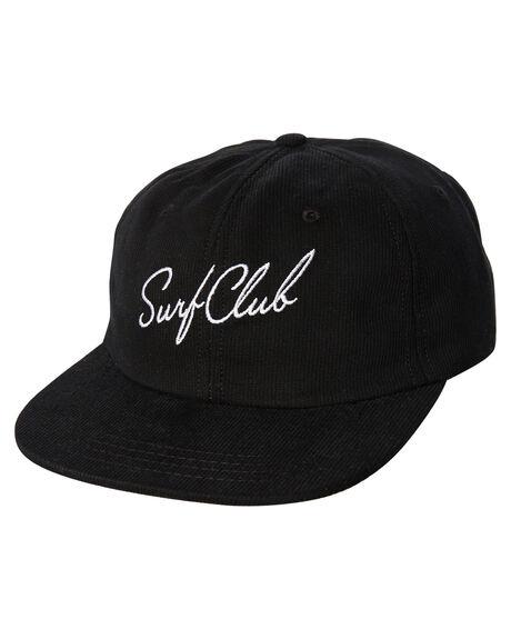 BLACK OUTLET MENS OAKLAND SURF CLUB HEADWEAR - SP18-H1-BBLK