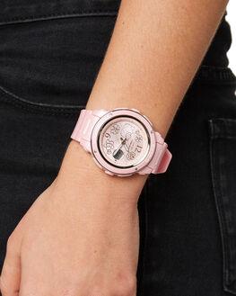 PINK WOMENS ACCESSORIES BABY G WATCHES - BGA150KT-4B_PNK