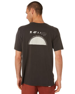 FADED BLACK MENS CLOTHING MOLLUSK TEES - MS1888FBL