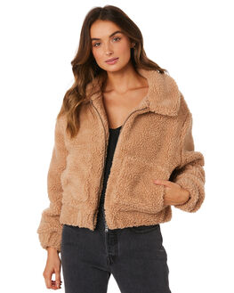 FAWN WOMENS CLOTHING ALL ABOUT EVE JACKETS - 6436030SAN