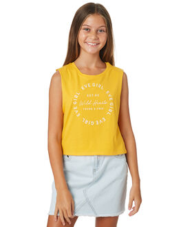 YELLOW KIDS GIRLS EVES SISTER TOPS - 9520097YLW