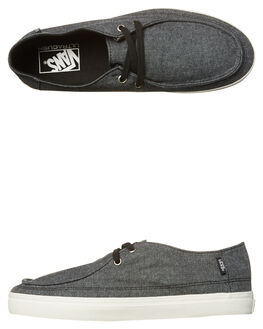 BLACK MENS FOOTWEAR VANS SNEAKERS - VN-A32SD4VWBLK