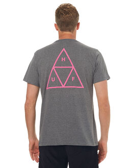 ARCTIC GREY MENS CLOTHING HUF TEES - TS00220AGRY
