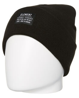 BLACK WOMENS ACCESSORIES ELEMENT HEADWEAR - 286631BLK