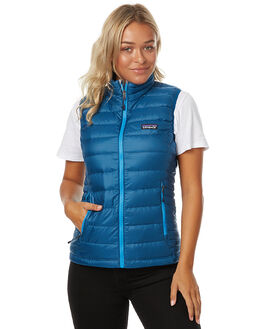 BIG SUR BLUE WOMENS CLOTHING PATAGONIA JACKETS - 84628BSRB