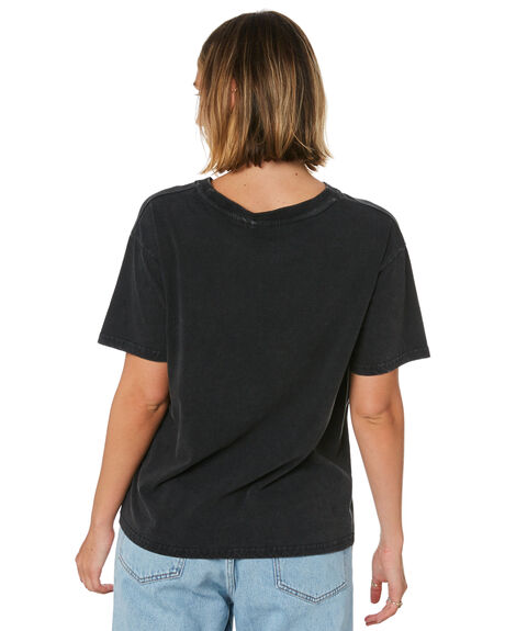 BLACK WOMENS CLOTHING SUNNYVILLE TEES - 48L0023-BLK