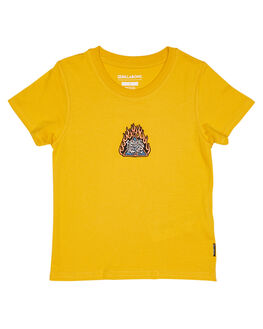 LIGHT MUSTARD KIDS TODDLER BOYS BILLABONG TOPS - 7582002LM3