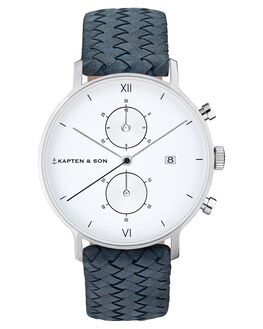 BLUE MENS ACCESSORIES KAPTEN AND SON WATCHES - KS-CD03A1008F01ABLU