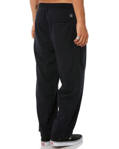 BLACK MENS CLOTHING POLAR SKATE CO. PANTS - PSC-SURF-BLK