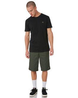 OLIVE GREEN MENS CLOTHING DICKIES SHORTS - 42283OGRN