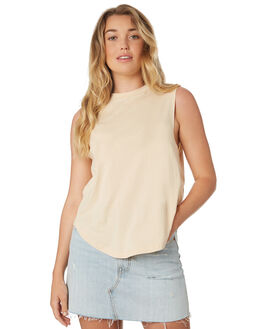 APRICOT WOMENS CLOTHING NUDE LUCY SINGLETS - NU23466APR