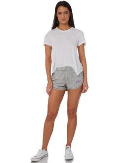 STONE GREY WOMENS CLOTHING RUSTY SHORTS - WKL0650SOG