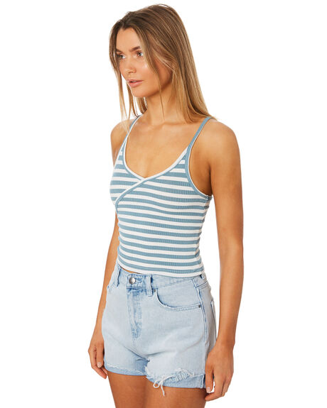 SEA GREEN WOMENS CLOTHING ALL ABOUT EVE SINGLETS - 6405041GRN