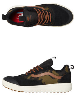 BLACK MENS FOOTWEAR VANS SNEAKERS - VNA3NASQ3YBLK