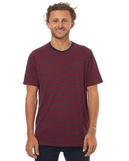 NAVY RED MENS CLOTHING NEUW TEES - 327123159
