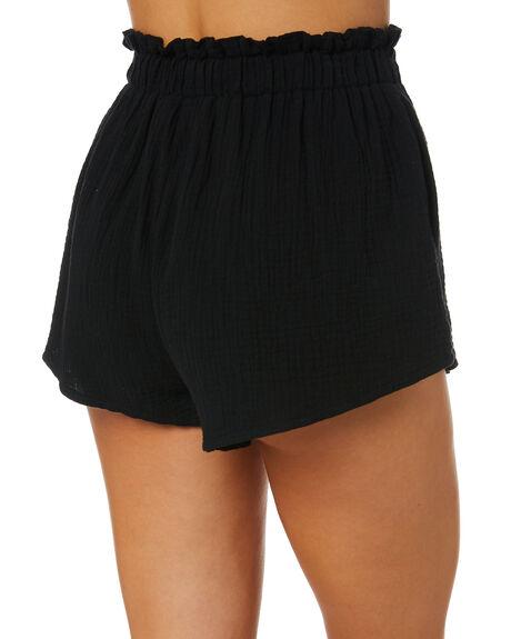 BLACK WOMENS CLOTHING SNDYS SHORTS - SFSH001BLK