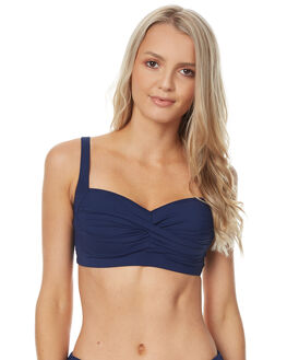 NAVY WOMENS SWIMWEAR NIP TUCK BIKINI TOPS - NT3035PNVY