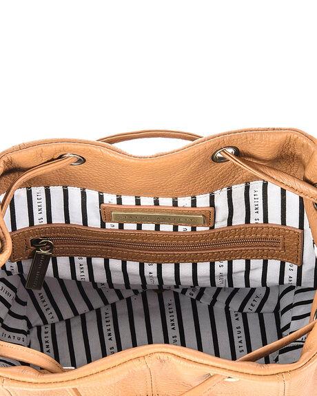 TAN WOMENS ACCESSORIES STATUS ANXIETY BAGS + BACKPACKS - SA7031TAN