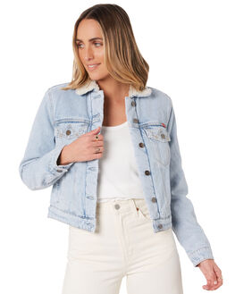 SILVER BLUES WOMENS CLOTHING WRANGLER JACKETS - W-951668-NA0