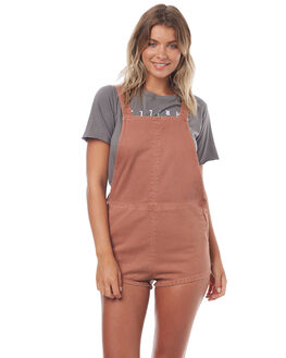 RUST WOMENS CLOTHING THRILLS PLAYSUITS + OVERALLS - WTDP-920HRUST