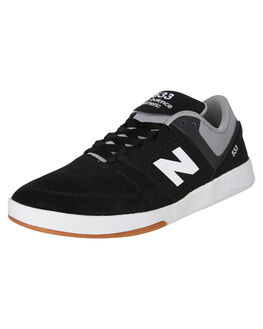 BLACK WHITE MENS FOOTWEAR NEW BALANCE SNEAKERS - NM533BI2BWHT