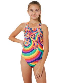 FLORAL SWIRL KIDS GIRLS SPEEDO SWIMWEAR - 4243D-7109FLRSW