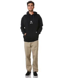 BLACK MENS CLOTHING THE CRITICAL SLIDE SOCIETY JUMPERS - FC1867BLK