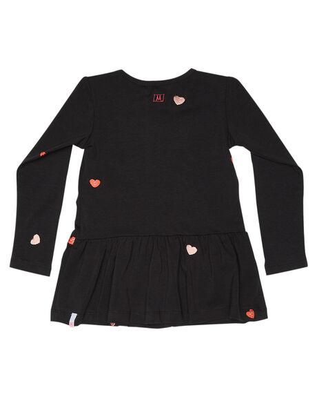 SOFT BLK KIDS GIRLS MUNSTER KIDS DRESSES + PLAYSUITS - MM182DR03BLK