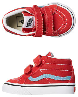 ROCOCCO RED KIDS TODDLER BOYS VANS FOOTWEAR - VNA348JQ8CRED