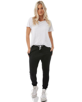 BLACK WOMENS CLOTHING RUSTY PANTS - PAL1041BLK