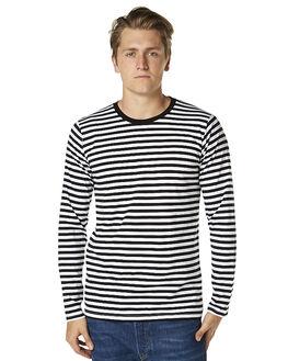 BLACK WHITE MENS CLOTHING AS COLOUR TEES - 5031BLKW