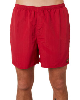 RED CLAY MENS CLOTHING DEPACTUS BOARDSHORTS - D5201234RDCLY
