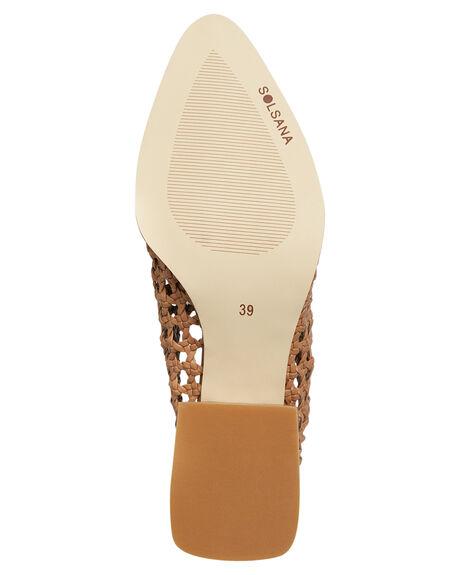 TAN WOMENS FOOTWEAR SOL SANA HEELS - SS181S320TAN