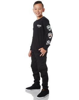BLACK KIDS BOYS RIP CURL TEES - KTEXT30090