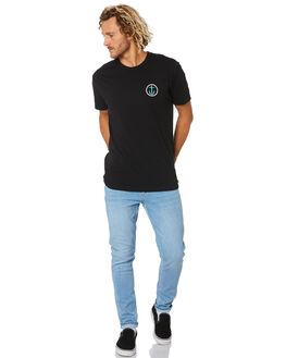 BLACK BLUE MENS CLOTHING CAPTAIN FIN CO. TEES - CT173227BLB