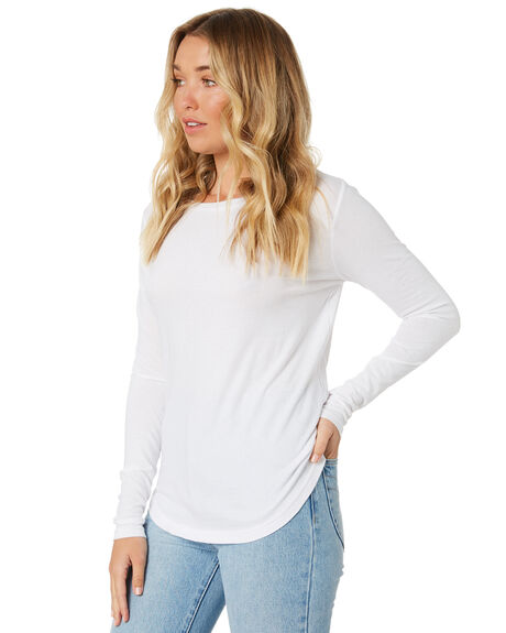 WHITE WOMENS CLOTHING SILENT THEORY TEES - 6008001WHT