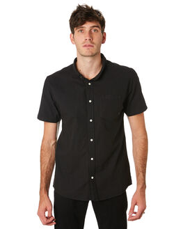 BLACK MENS CLOTHING SWELL SHIRTS - S5201168BLACK