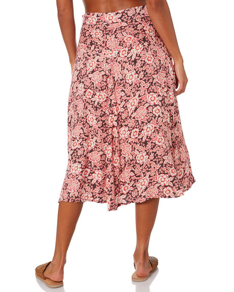 WANDERER FLORAL WOMENS CLOTHING THE HIDDEN WAY SKIRTS - H8204471WNDFL