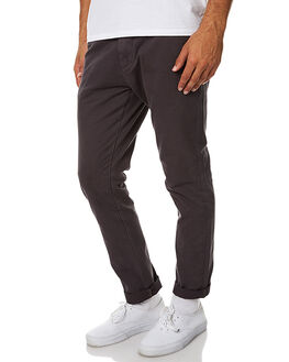 CHARCOAL MENS CLOTHING ACADEMY BRAND PANTS - 17W100CHA