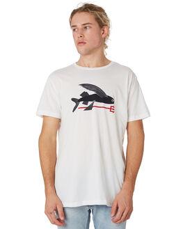 WHITE MENS CLOTHING PATAGONIA TEES - 39145WHI